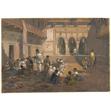 Painting - Indian School Calcutta