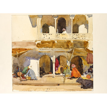 Watercolour - Gwalior