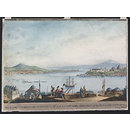 Entrance to the Port of Constantinople (Watercolour)