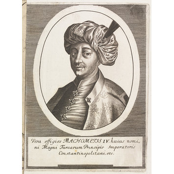 Print - Turkish sultans, sultanas and other historical figures