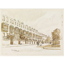 Brunswick Terrace, Windsor (Watercolour)
