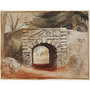The Tunnel in the grounds of Buckland House, near Faringdon (Watercolour)