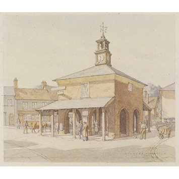 Watercolour - Town Hall, Princes Risborough
