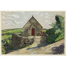 Bible Christian Chapel, Tremodrett, Roche (Watercolour)