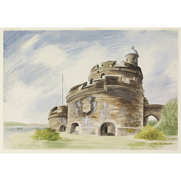 Watercolour - St. Mawes Castle, near Falmouth