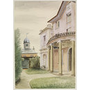 Marlborough House, Falmouth (Watercolour)