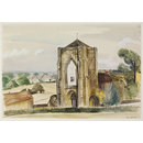 Beauchief Abbey (Watercolour)