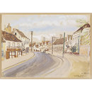 Bradford Street, Bocking (Watercolour)