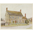 Hall Farm, Leinthall Earls (Watercolour)