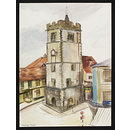 The Clock Tower, St. Albans (Watercolour)