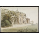 Heaton Hall, Manchester (Watercolour)