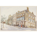 Buckingham Place, Westminster (Watercolour)