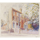 Stanfield House, Hampstead (Watercolour)