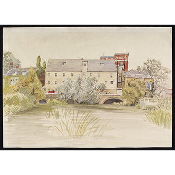 Watercolour - The Mill, Ponders End