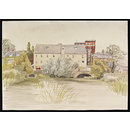 The Mill, Ponders End (Watercolour)