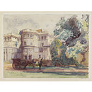 Front Entrance, Cannons Park, Edgware (Watercolour)