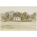 The Firs (Farmhouse) near Sudbourne (Watercolour)