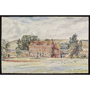 West Wick Manor, near Oare (Watercolour)