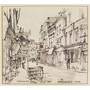 Mealcheapon Street, Worcester (Drawing)