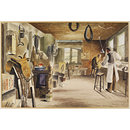 Saddler's Workshop, 70, High Street, Croydon (Watercolour)