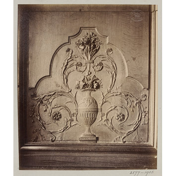 Photograph - Ornamental panel, Hôtel de Lauzun, Paris, France