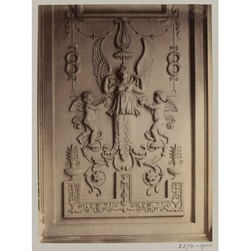 Photograph - Modelled decoration, Hôtel Gouthière, Paris, France