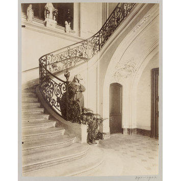 Photograph - Staircase, Hotel d'Ecquevilly, Paris, France