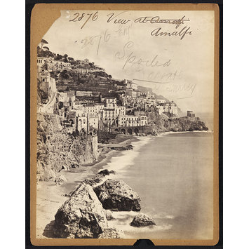 Photograph - View at Amalfi