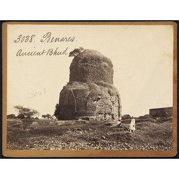 Photograph - Benares.  Ancient Bhud