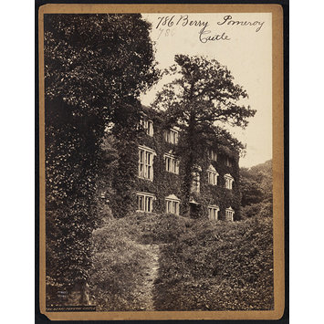 Photograph - Berry Pomeroy Castle