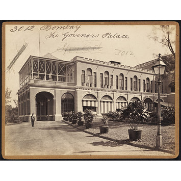 Photograph - Bombay.  The Governors Palace