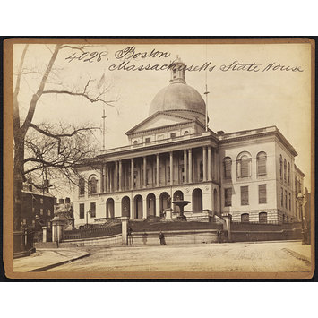 Photograph - Boston.  Massachusetts State House