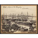Ships on the Hooghly.  Calcutta (Photograph)
