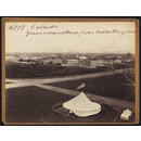 Calcutta.  Government House from the Ochterlony Mont. (Photograph)