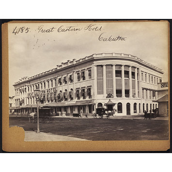 Photograph - Great Eastern Hotel.  Calcutta