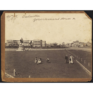 Photograph - Calcutta.  Government House