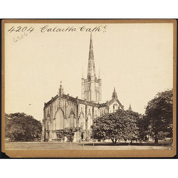 Photograph - Calcutta Cath'l