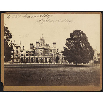 Photograph - Cambridge.  St. John's College