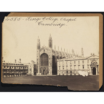 Photograph - Kings College Chapel.  Cambridge