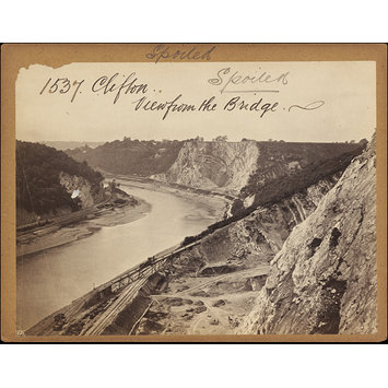 Photograph - Clifton.  View from the Bridge