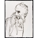 Abraham. One of a series of Biblical portraits. Hors de commerce proof. (Lithograph)