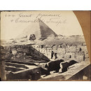 Great Pyramid & Excavated Temple (Photograph)