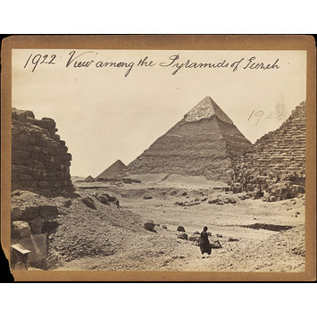Photograph - View among the Pyramids of Geezeh