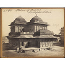 Palace of Burbal.  Futtipore Sikri (Photograph)