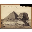 The Great pyramid & sphinx (Photograph)