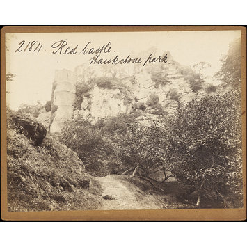 Photograph - Red Castle. Hawkstone park