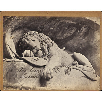 Photograph - The Lion.  Lucerne
