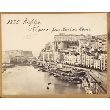 Photograph - Naples.  St. Lucia from Hotel de Rome