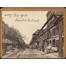 New York.  Elevated Railroad (Photograph)