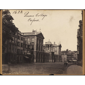 Photograph - Queens College.  Oxford